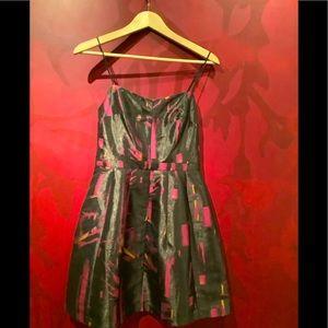 EIGHT SIXTY Spaghetti strap mini dress